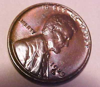 1929-D Lincoln Cent ~Choice Uncirculated ~Saddle Leather & Fire ☆Make An Offer☆