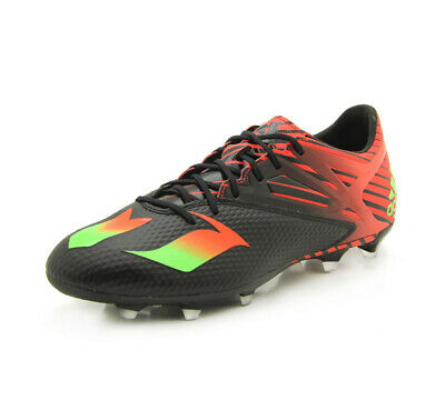 online retailer 7a83b d1e2b New Adidas Men s Messi 15.2 FG AG Soccer Cleat Blk Grn Red 9.5
