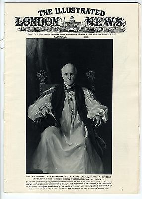 1932 ILLUSTRATED LONDON NEWS Cosmo Lang Sir William Bragg Wigan BOLTON 36