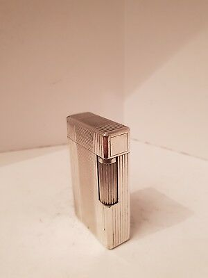 Accendino lighter Dupont D57 argento introvabile