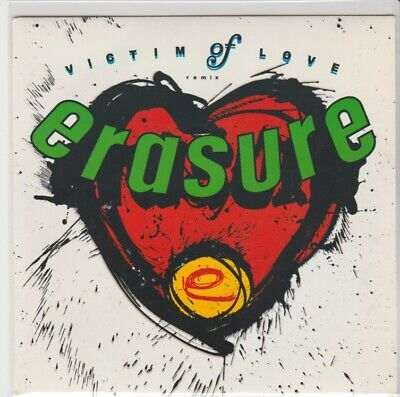 "Erasure ""Victim Of Love/Soldier's Return"" Mute 1987 PS 7"" Library Archive copy"