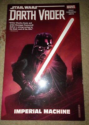 Marvel Comics Star Wars Darth Vader Imperial Machine Softcover Graphic Novel New