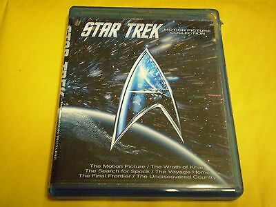 Star Trek: Original Motion Picture Collection (Blu-ray Disc, 2016, 7-Disc Set)