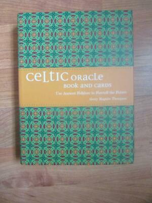 VERY RARE - CELTIC ORACLE. Book and Cards. Unique Divination Oghams Trees Animal