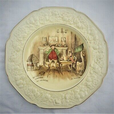 Vintage Crown Ducal English China Collector Plate