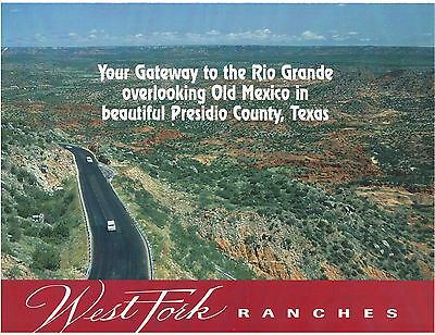 TEXAS Presidio Large ranch by Rio Grande River SW Texas 15 ac