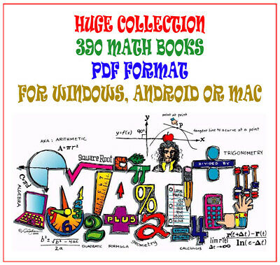 Huge Collection - 390 Math Books - PDF Download