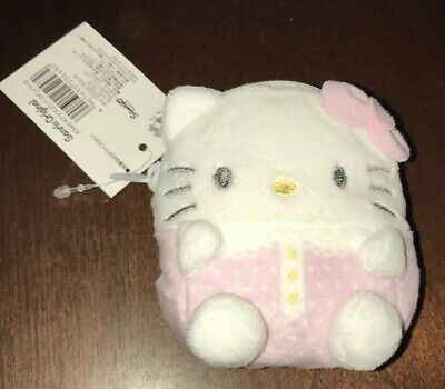 Sanrio Hello Kitty Plush Coin Bag Coin Purse New