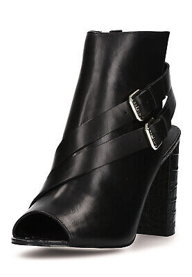 low priced 65665 dcc8c GUESS STIEFELETTEN STIEFEL Ankle Boots mit Kette schwarz ...