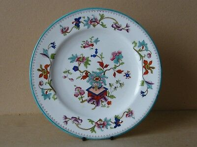 "Antique Royal Worcester Plate Hand Painted 10.5"" Oval Mark c 1865-80 No 13"