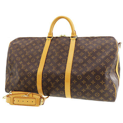 56c146e0f38 Louis Vuitton Fourre-Out Bandouliere 55 Boston Sac à Main Monogramme M41414