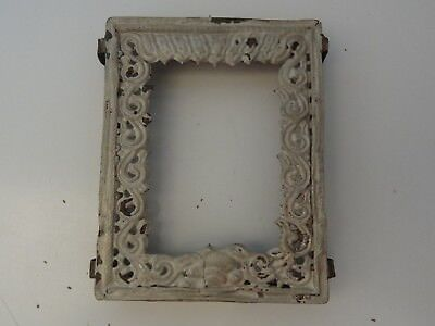 Antique  Mongolian Buddhist Hand Made Copper  Gau Frame