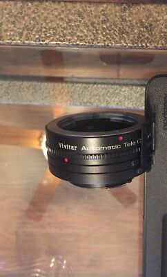 Vivitar Automatic Tele converter 2X-5 for Minolta MD mount