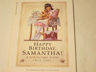 The American Girls Collection: Happy Birthday Samatha:A Springtime Story: Book 4