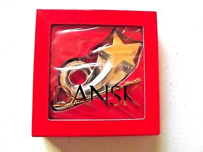 Dansk SHOOTING STAR Ornament  Silver Plated new /& sealed