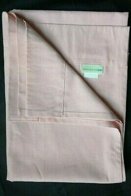 POTTERY BARN KIDS ~ CLASSIC CANVAS PANEL ~ in BLUE 44 x 84 ~ 3 AVAILABLE