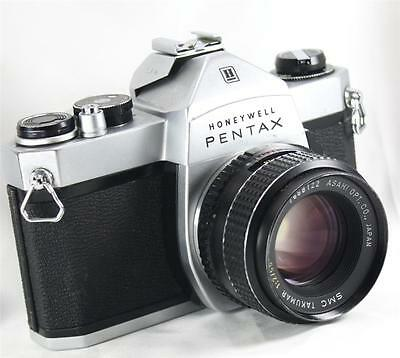 PENTAX SP 1000 35mm SLR Film Camera & 55mm Lens