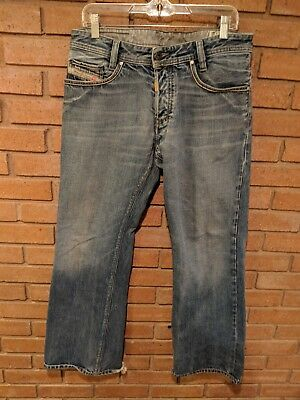 41e523a7 DIESEL MEN'S JEANS KOFFHA MADE IN ITALY BUTTON FLY WASH 00784 SIZE 32 x 32