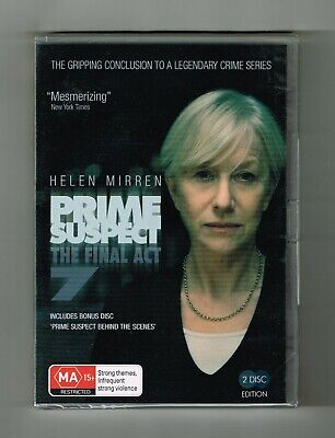 Prime Suspect -The Final Act Series 7 Dvd 2-Disc Set Brand New & Sealed