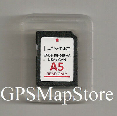 2013 2014 Lincoln MKS MKT MKX Navigation SD CARD Map Version A5 Update OEM Chip
