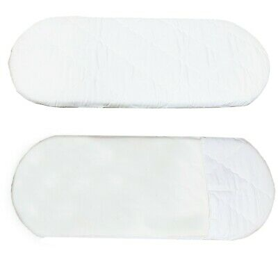Baby Cot Mattress & Cover Diamond Quilted Fire Resistant Thick 75 X 28 X 20 CM
