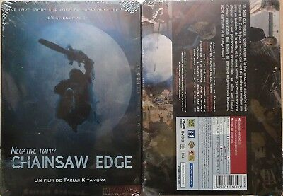 Coffret STEELBOOK DVD ***NEUF*** NEGATIVE HAPPY CHAINSAW EDGE Ed FR tronçonneuse