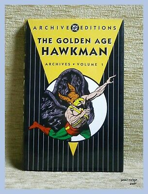HAWKMAN THE GOLDEN AGE ARCHIVES Volume 1 DC COMICS USED