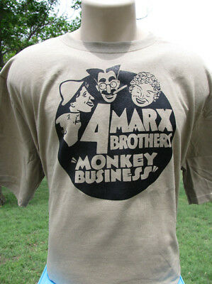 The Four Marx Brothers Monkey Business T-Shirt Groucho