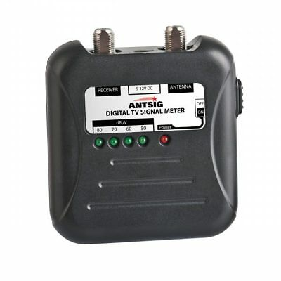 Antsig Digital Tv Signal Meter, F-Type Pal Ap9000Gb New Professional Tool
