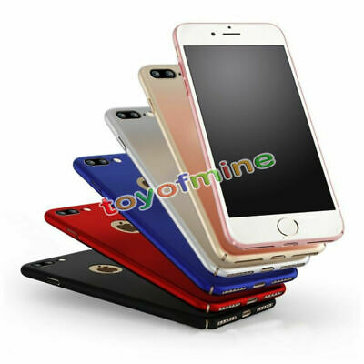 """Luxury Ultra Thin Slim Matte Hard Back Case Cover for Apple iPhone 7 & 7 Plus """""""