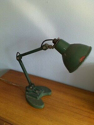 Vintage Original Condition Angle-Poise Lamp made by E.D.L. in working order