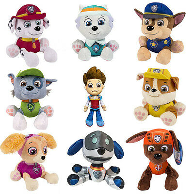 "Hot Paw Patrol Pup Pals 8"" Skye Zuma Rocky Marshall Kids Gift Soft Plush Toy Dog"
