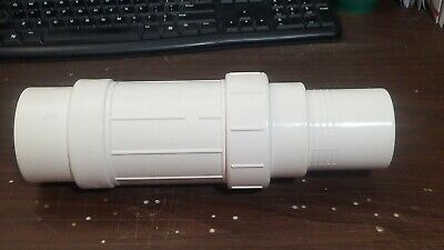 "2-1/2"" IPS PVC Expansion Coupling, 12-3/4"" Body Length by Jones Stephens"