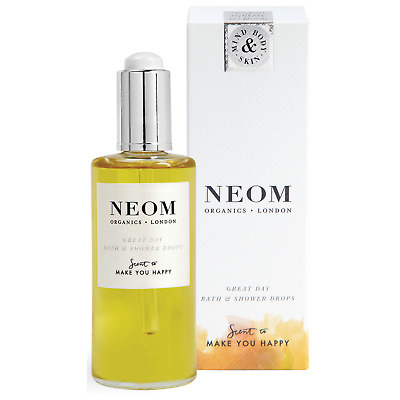 Neom Organics Scent to Make you Happy Great Day Bath & Shower Drops 100ml