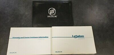 2000 2001 BUICK REGAL LESABRE CENTURY FACTORY OWNERS MANUAL CASE W BUICK LOGO