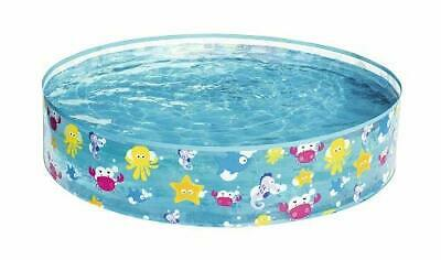 Bestway Round Swimming Paddling Pool Outdoor Sea Animal 48 X 10 Inches Summer