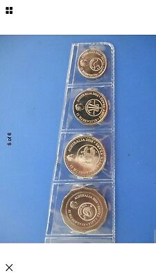 2016 Decimal Currency Changeover Coins 5c 10c 20c50c Fifty Cent  From  Mint Roll