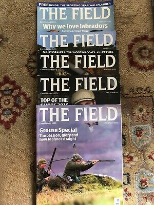 THE FIELD Magazine - 5 copies  April to August  2016