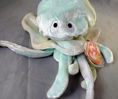 0f77dd62faa TY Beanie Babies Goochy Jelly fish Born Nov 18 1998 Swing Tag Plush Toy
