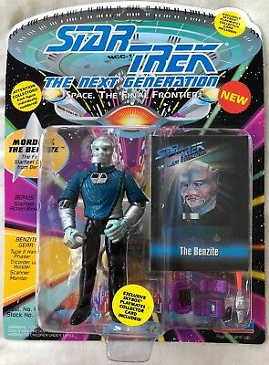 STAR TREK NEXT GENERATION THE BENZITE ACTION FIGURE (Playmates, 1993) NEW
