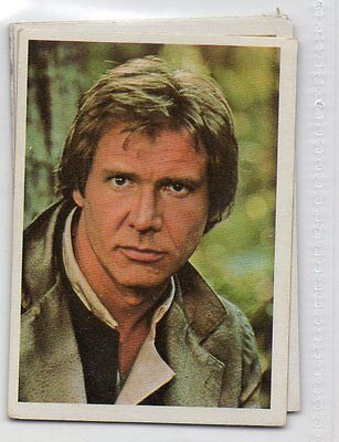"Star Wars ""El Retorno Del Jedi"" Spanish Trading Card By Pacosa Dos - Number 27"