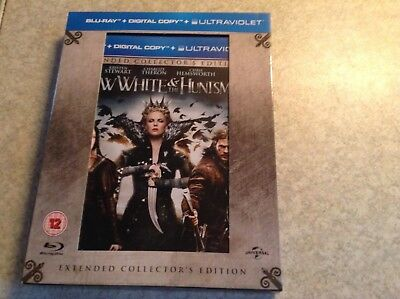snow white and the huntsman - blu ray collectors edition