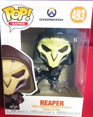 "Brand New Pop Games, From ""Overwatch"", #493, Reaper,   In Stock"