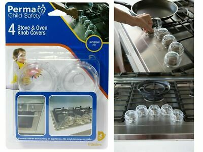 4 Pack Perma Child Safety Stove Knob Covers 777