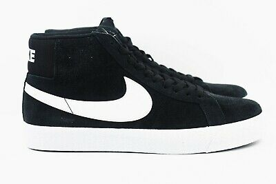 c6b394d71b NIKE SB ZOOM Blazer Mid Mens Size 10 Shoes Black White 864349 002