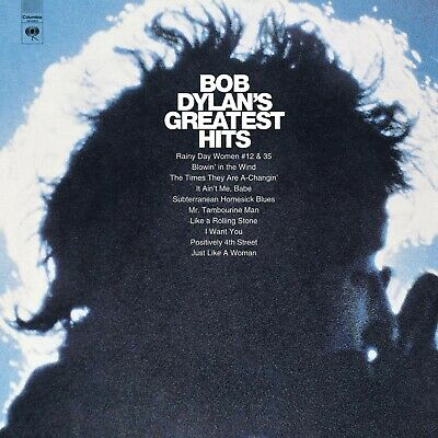 Bob Dylan's Greatest Hits CD by Bob Dylan  CBS Columbia