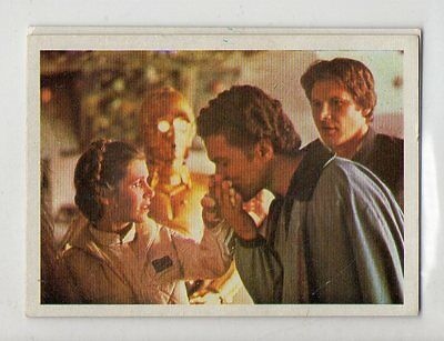 "Star Wars ""El Retorno Del Jedi"" Spanish Trading Card By Pacosa Dos - Number 16"