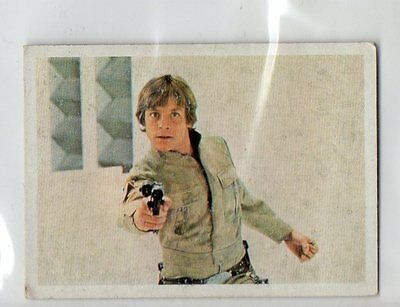 "Star Wars ""El Retorno Del Jedi"" Spanish Trading Card By Pacosa Dos - Number 21"