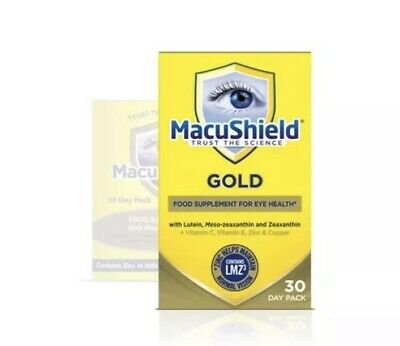 Macushield Gold 90 Capsules 1 Month Supply FREE Postage