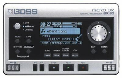 BOSS Digital Recorder MICRO BR BR-80 F/S w/Tracking# New from Japan